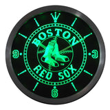 Boston Red Sox LED Neon Wall Clock