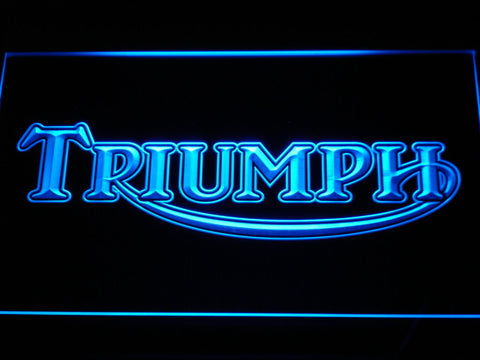 Triumph LED Neon Sign