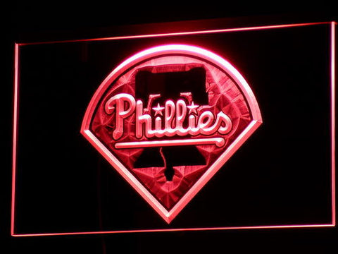 Philadelphia Phillies LED Neon Sign