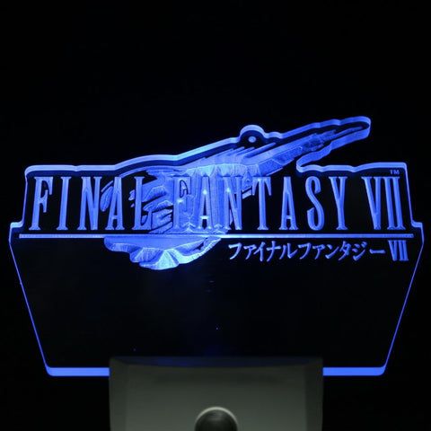 Final Fantasy VII FF7 PS2 Gift Day/ Night Sensor Led Night Light