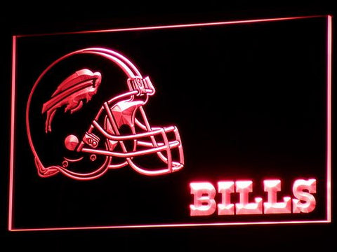 Buffalo Bills Helmet LED Neon Sign