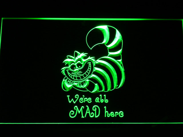 Cheshire Cat LED Neon Sign