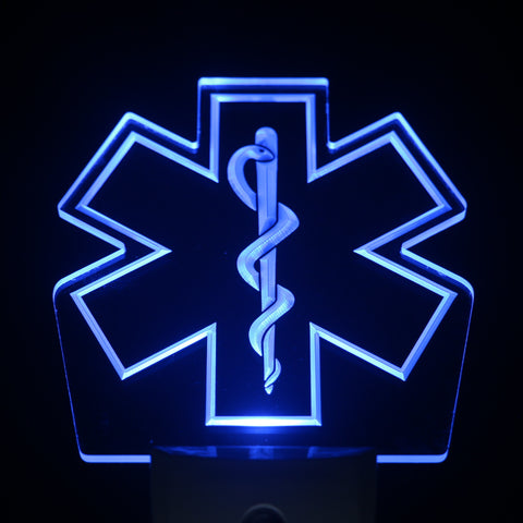 EMS Emergency Medical Service Day/ Night Sensor Led Night Light