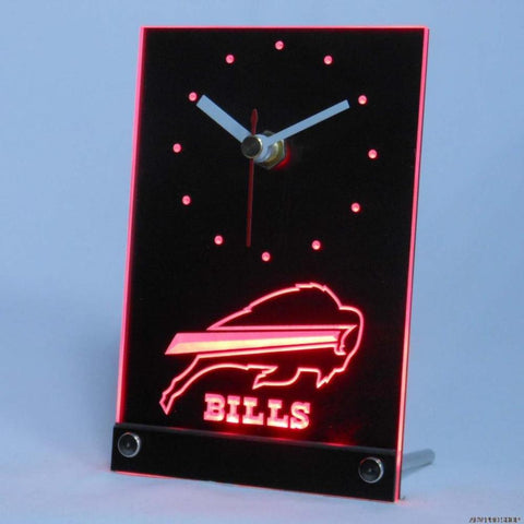 Buffalo Bills 3D LED Table Clock