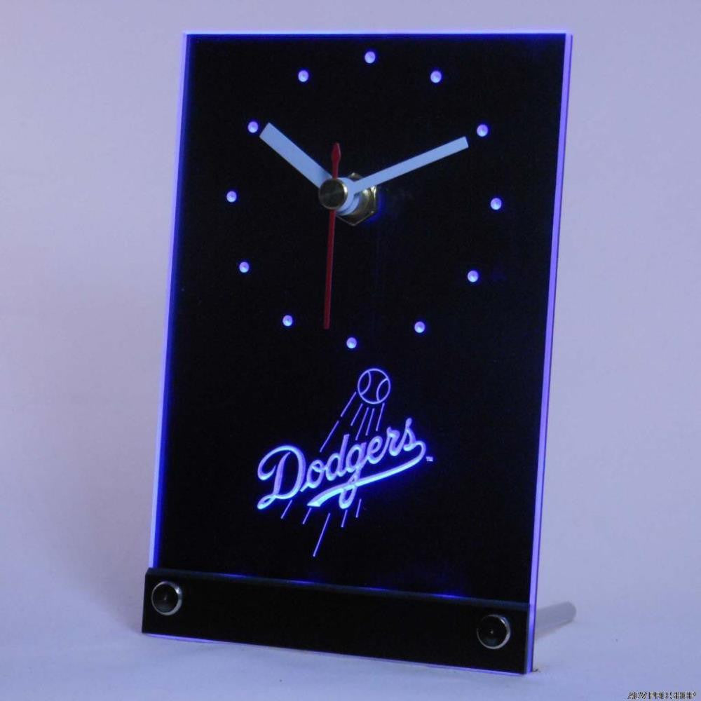 Los Angeles Dodgers 3D LED Table Clock