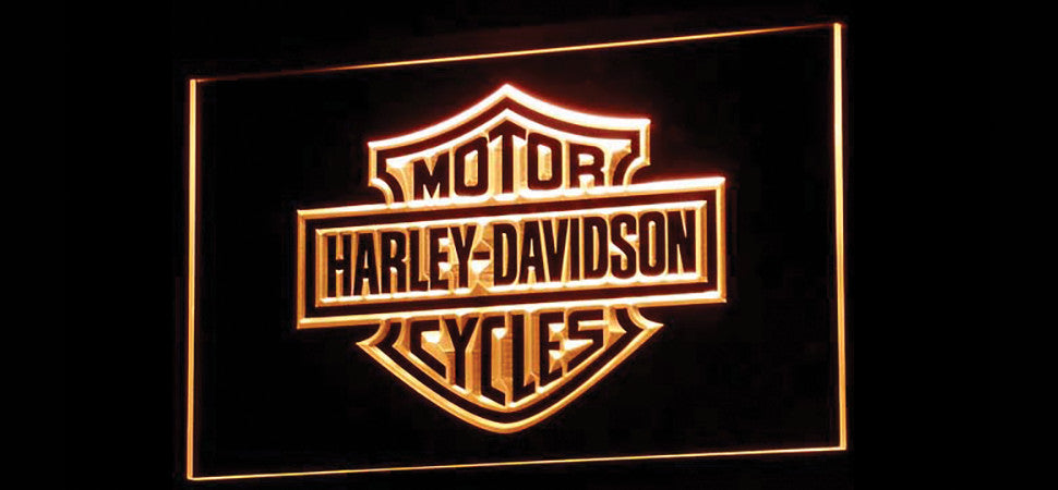 Harley Davidson LED Sign