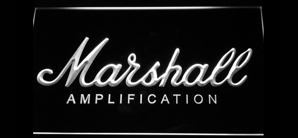 Marshall Amplification LED Sign