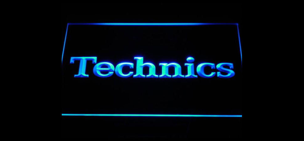 Technics LED Sign