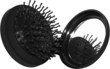 Hair Brush Compact with Mirror
