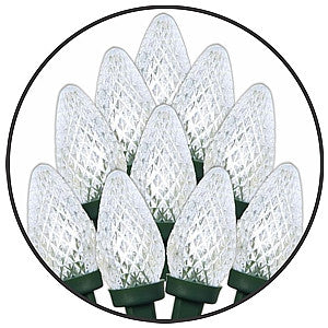 Gravitti Indoor/Outdoor C9 Led Lights-80Pack White