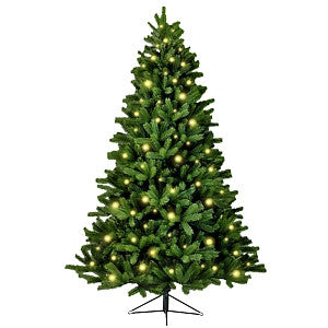 Gravitti 7' 900 Tip Pre Lit 220Led Artificial Christmas Tree