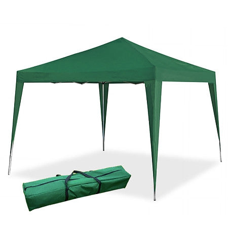 Gravitti Outdoor 10 X 10 Pop Up Gazebo W/Carrying Case-Green