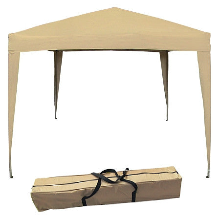 Gravitti Outdoor 10 X 10 Pop Up Gazebo W/Carrying Case-Beige
