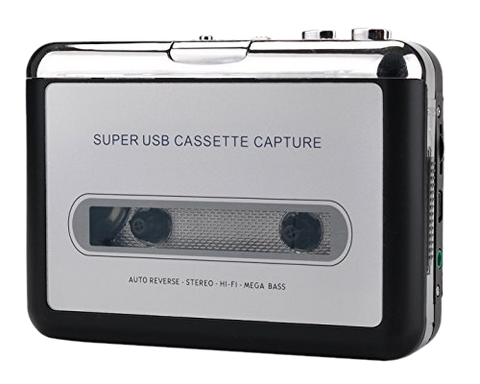 Gravitti Cassette Tape To USB/PC/MP3 Converter
