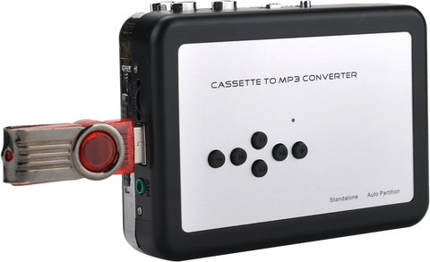 Gravitti Cassette To MP3 Converter Direct To USB