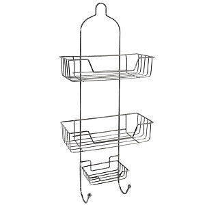 "Gravitti Chrome 3 Tier 26"" Shower Caddy"