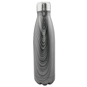 Gravitti Double Wall Stainless Steel Water Bottle 17Oz- Charcoal