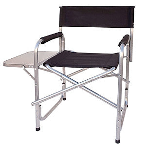 Gravitti Directors Camping Chair With Side Table