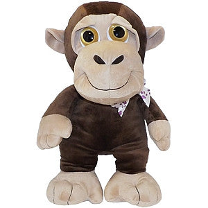 "Gravitti 22"" Big Eyes Plush Monkey"