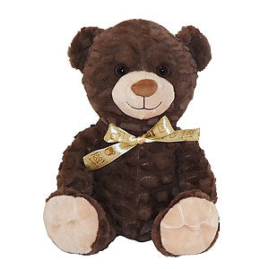 "Gravitti 12"" Plush Teddy Bear- Brown"