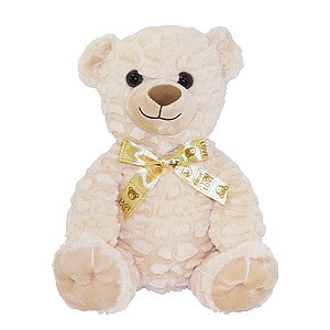 "Gravitti 12"" Plush Teddy Bear- Beige"