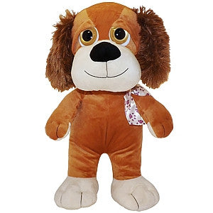 "Gravitti 22"" Big Eyes Plush Dog"