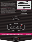 Gravitti 3 Piece Hot Hair Styling Gift Set