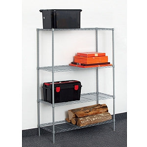 Gravitti 4 Tier Metal Shelf