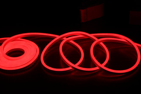 Arctic Sky 19.7' (6M) Neon Rope Light- Red