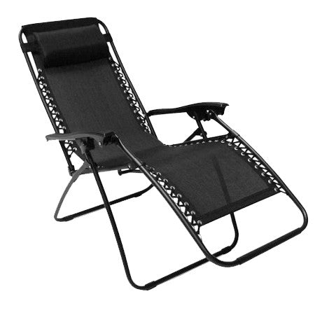 Gravitti Zero Gravity Chair Black Gravitti Canada