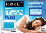 Gravitti Cool Gel Memory Foam Pillow
