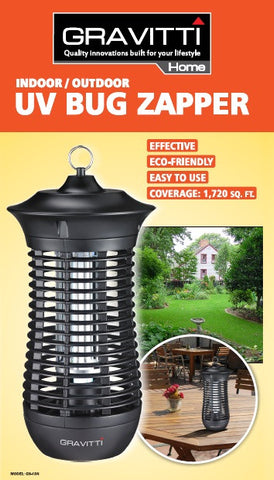 Gravitti Indoor/Outdoor  Uv Bug Zapper 1720 Sq Ft