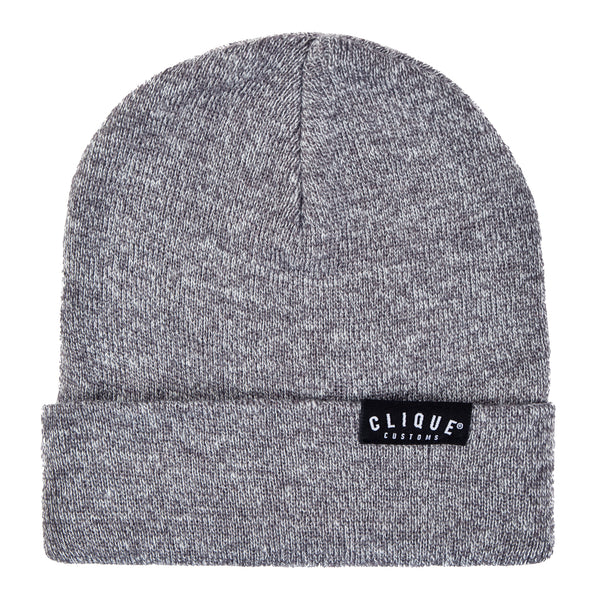 CLASSIC BEANIE - HEATHER GREY