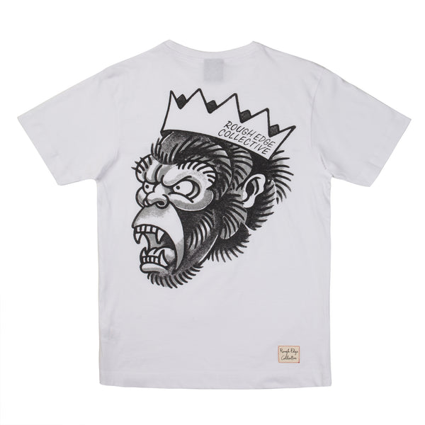 THE KING T SHIRT - WHITE