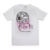 DEVIANTS & SCUMBAGS T SHIRT - WHITE