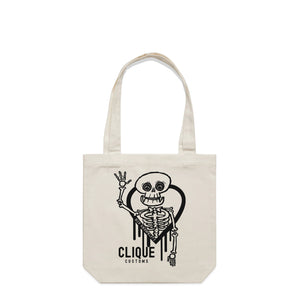 Open image in slideshow, R.I.P NORMALITY RAW TOTE BAG