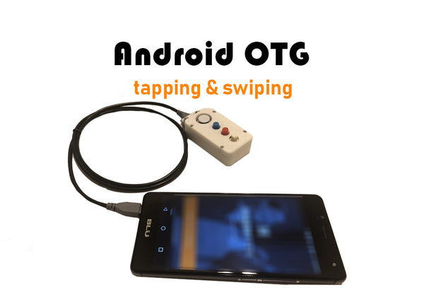 Android OTG auto swiper and clicker