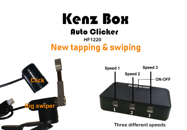 Kenz Box Auto clicker device HF1220