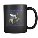 Support The Police Coffee Mugs