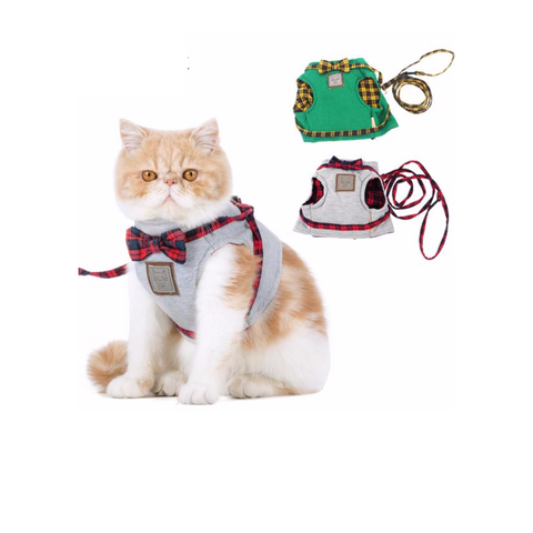 Cat Harness Jacket & Leash Set