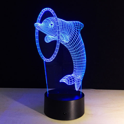 Dolphin 3D LED Light