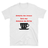 expresso and divorce Short-Sleeve Unisex T-Shirt