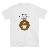 dads powered by coffee Short-Sleeve Unisex T-Shirt