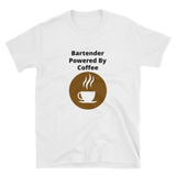 bartender powered by Coffee Short-Sleeve Unisex T-Shirt