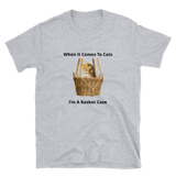 cat basket Short-Sleeve Unisex T-Shirt