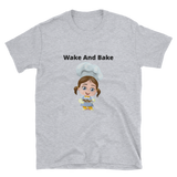 wake and bake 2 Short-Sleeve Unisex T-Shirt