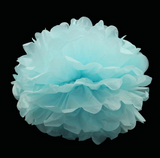 Set of 10 Giant Handmade Paper Pom Poms in 16 Color Choices