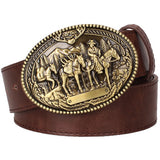 American Western Belt And Buckle
