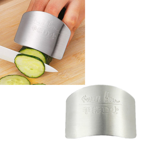 Stainless Steel Finger Cutting Guard