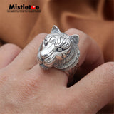 Sterling Silver Vintage Tiger Ring